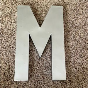 "Other - Painted letter ""M"""